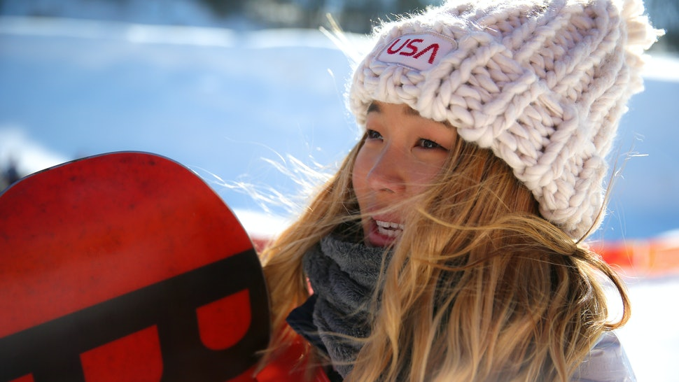 Can You Buy Chloe Kim s Team USA Hat  The Chunky Knit Beanie Is Taking Over  Twitter 1274b275b6e