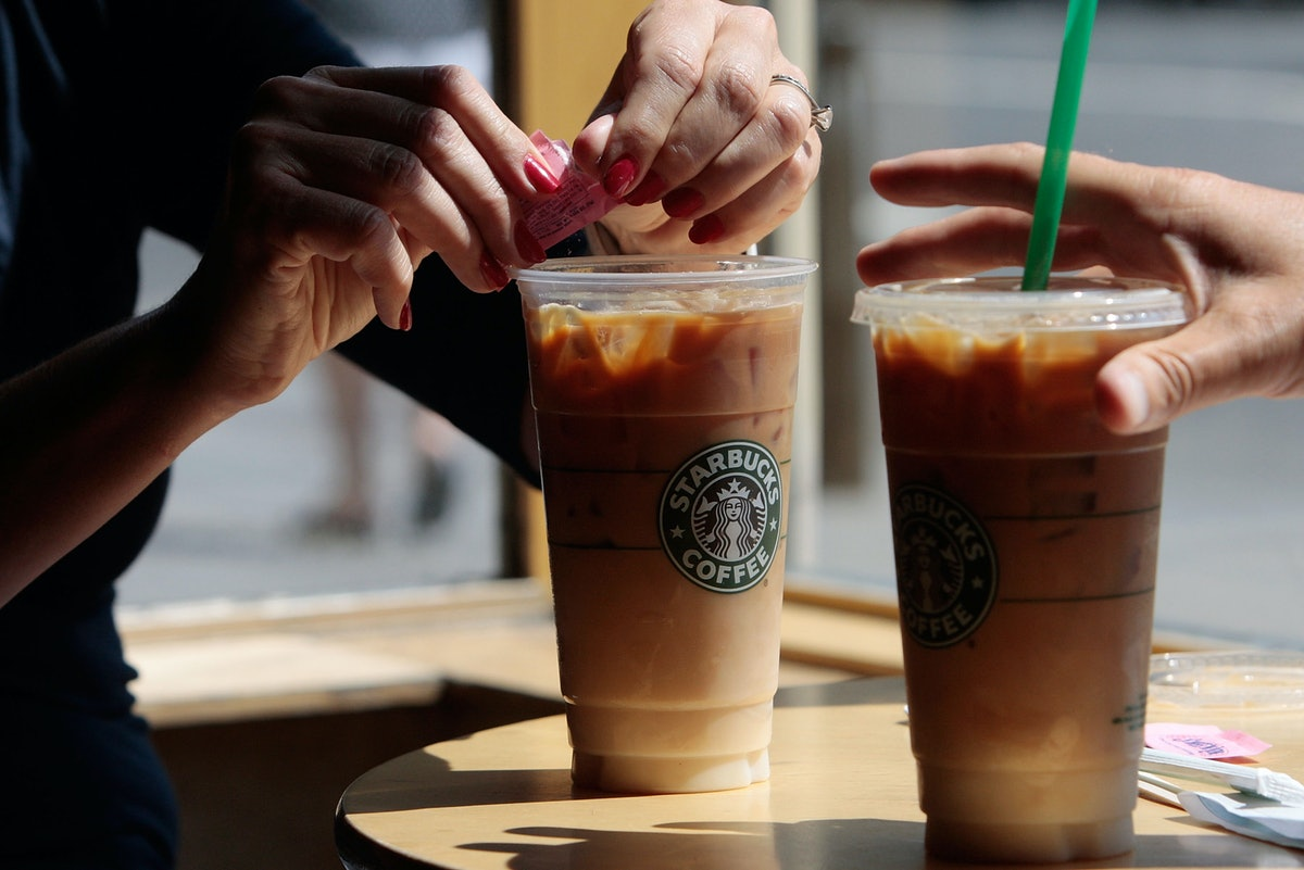 Here Are The Strongest Summer Starbucks Drinks That'll Cool You Off & Wake You Up