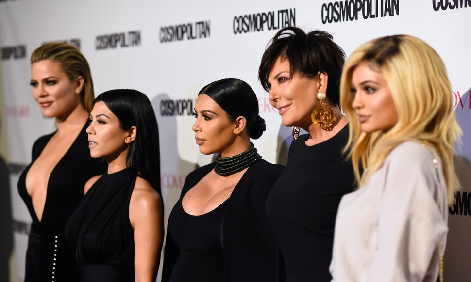 Kim K Says A Goth Kardashian Christmas Card Almost Happened — And ...