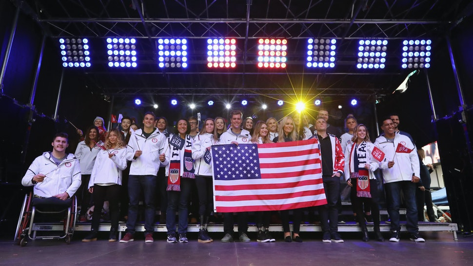 f81dd10396cf34 Where Can You Buy The 2018 Team USA Olympic Medal Stand Uniforms  These  Looks Are Actually Shoppable