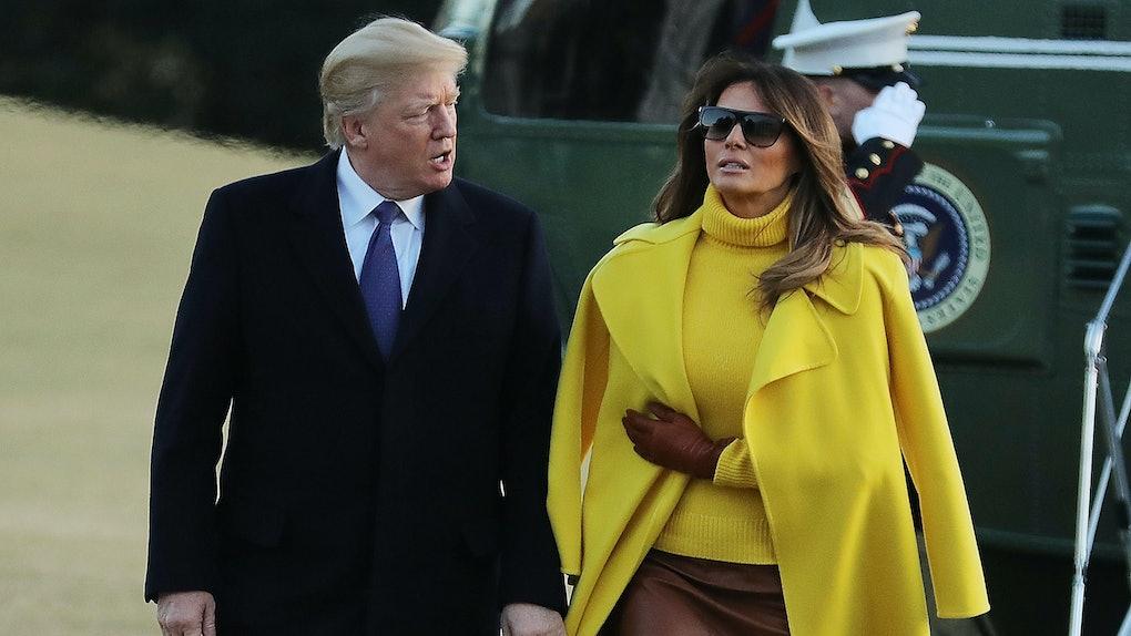 фото мелания трамп с моникой белуччи нас городе