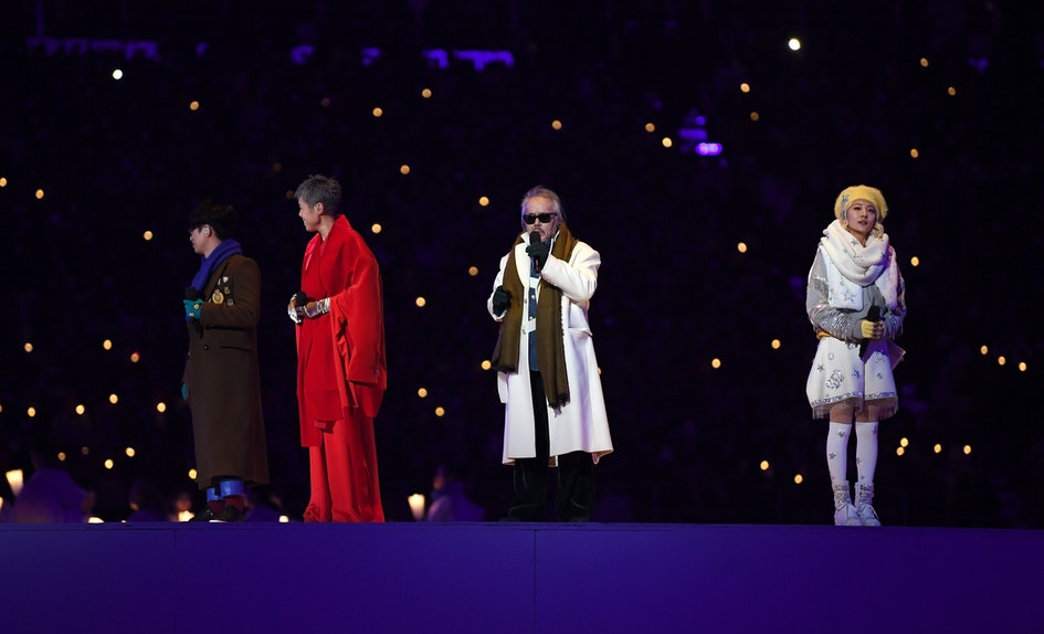who sang imagine at the 2018 olympic opening ceremony korean singers performed the rendition - How To Say Merry Christmas In Korean
