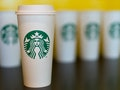Starbucks cups, which hold some of the strongest drinks and caffeine to get your day going.