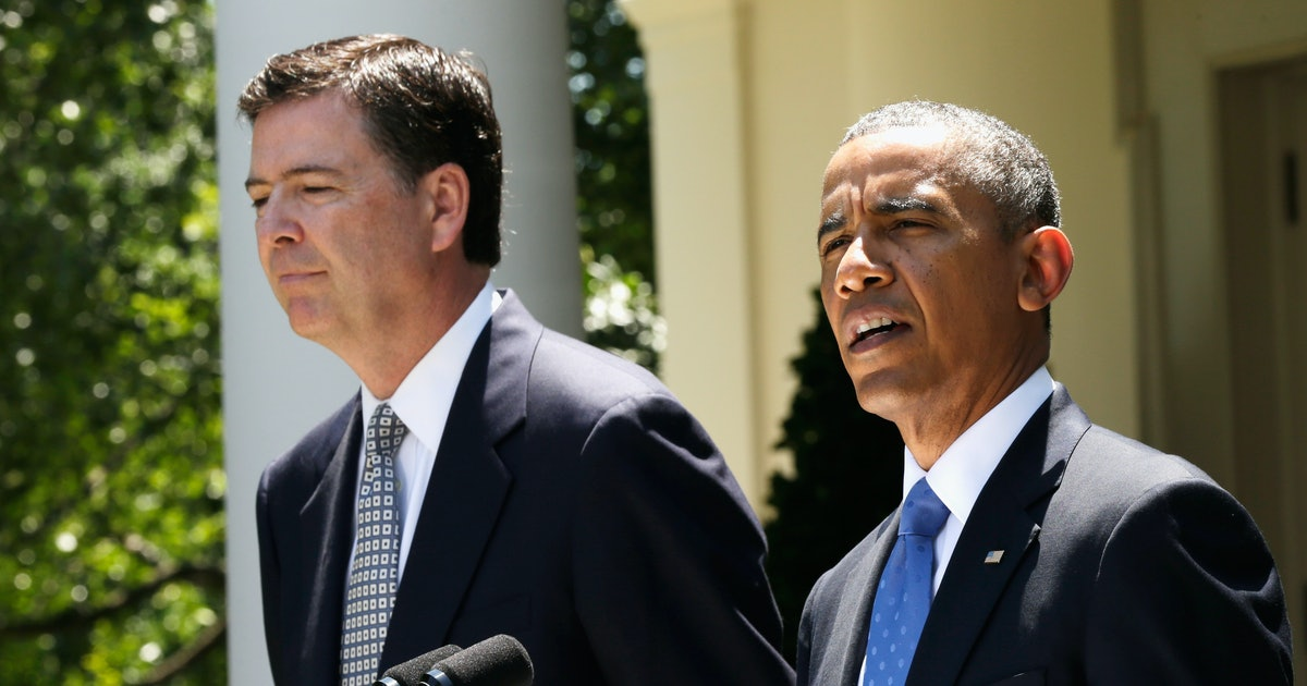James Comey Says Obama Almost Made Him Cry Once & The Story Behind It Is So Touching