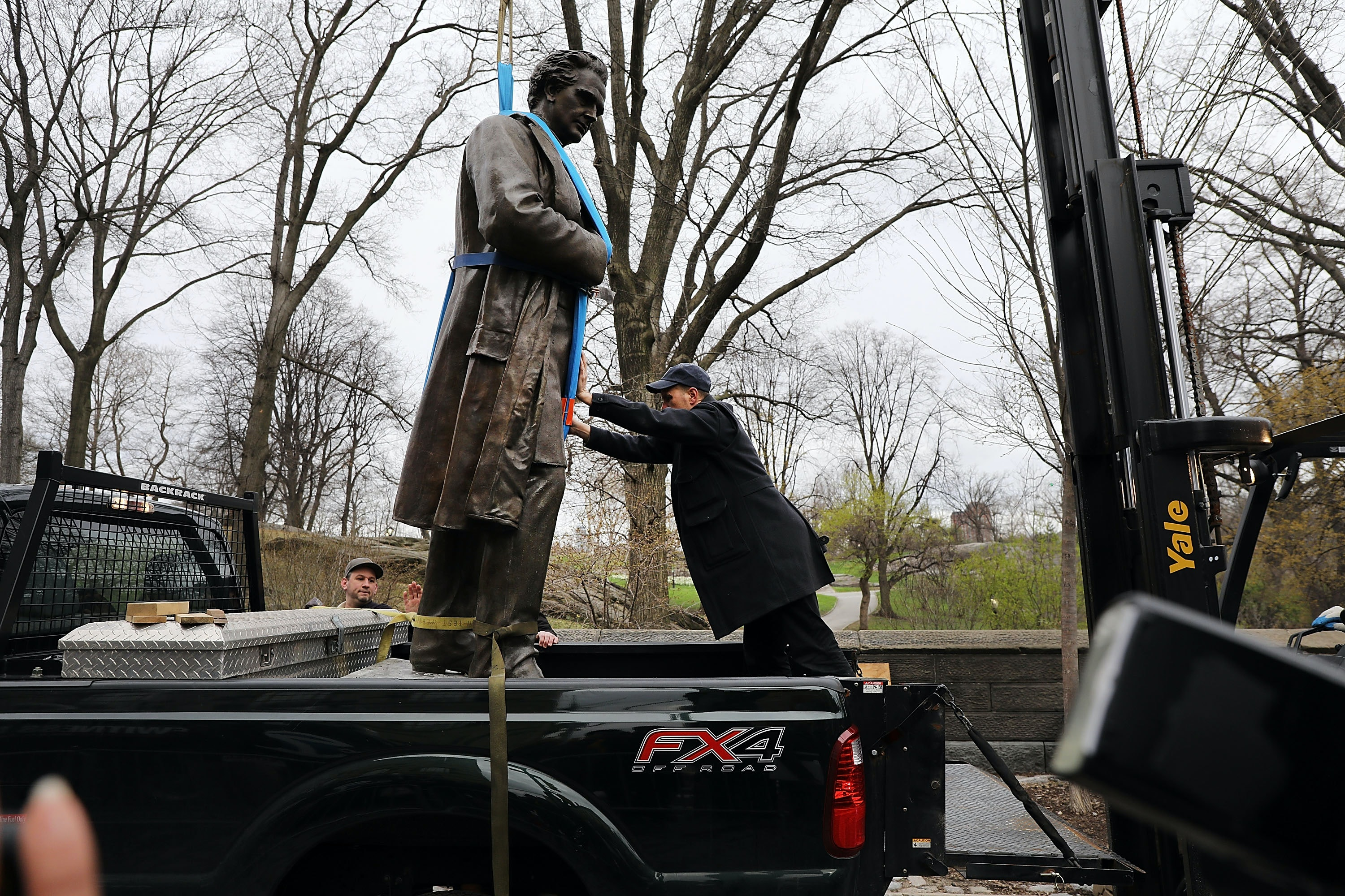 J. Marion Sims' NYC Statue Will Be Moved To Another Neighborhood, & Here's Why Activists Aren't Happy About It