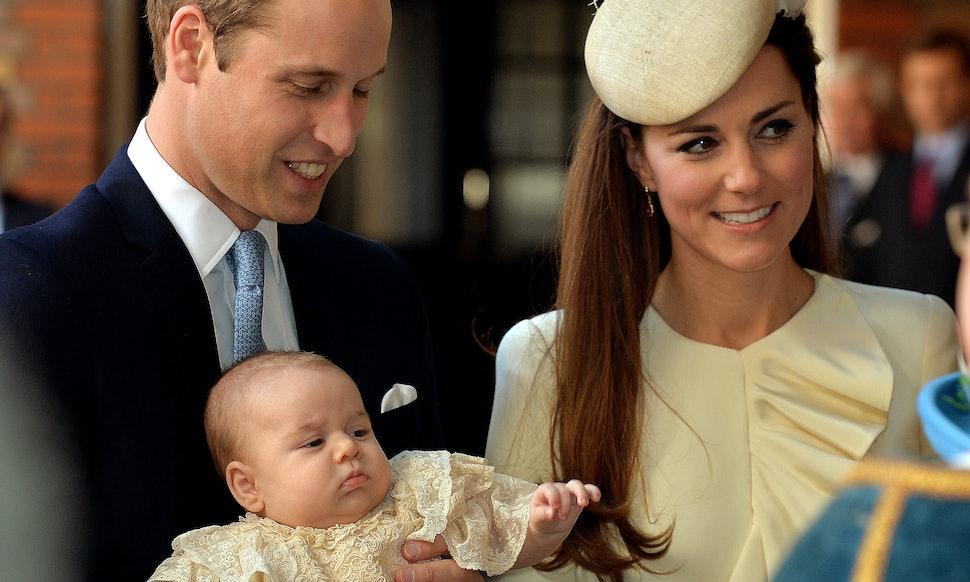 Znalezione obrazy dla zapytania royal christening