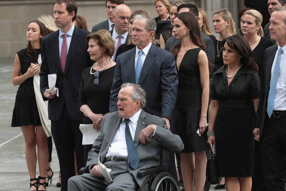 Photos Of Barbara Bush S Funeral Show The Love Respect The Former