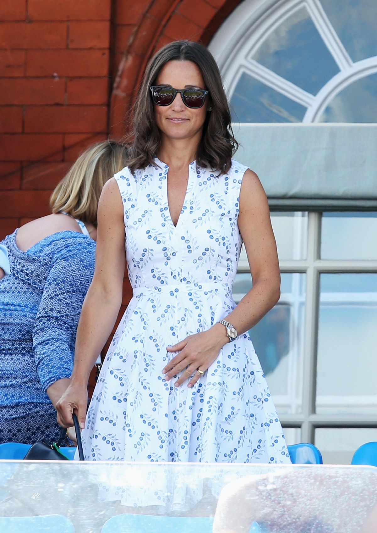 Pippa Middleton's Blue Headband Is The Key To Nailing Wedding-Guest Style