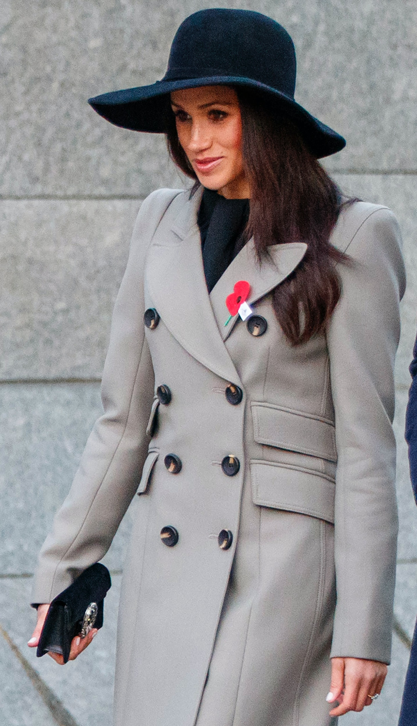 Meghan Markle s Floppy Hat Broke Royal Fashion Rules — And She Looked Good  While Doing It 5f1c7c6a0d81