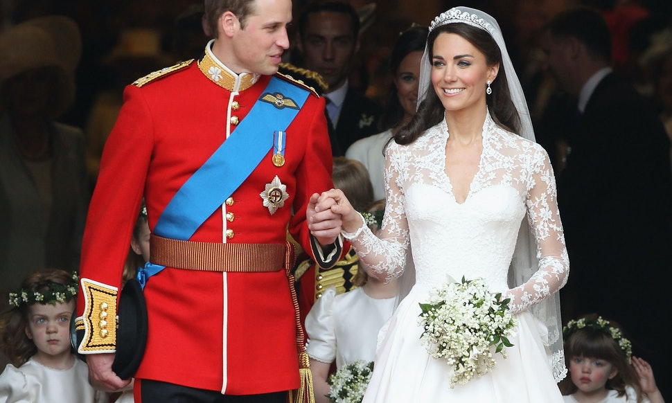 Kate Middleton Prince Williams 2007 Royal Wedding Featured This