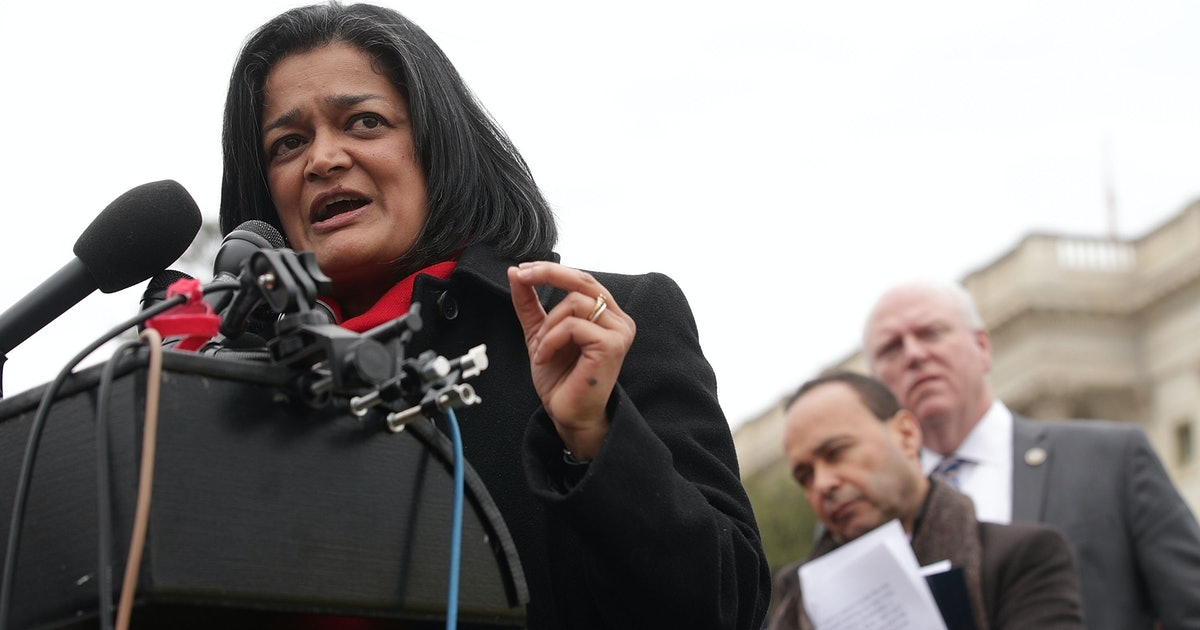 Video Of Rep. Pramila Jayapal's Response To Whether She's A U.S. Citizen Is Everything