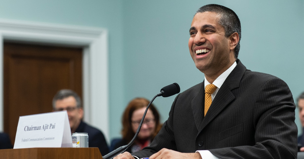 Ajit Pai's Net Worth Suggests Dealing With Net Neutrality Isn't His Only Responsibility