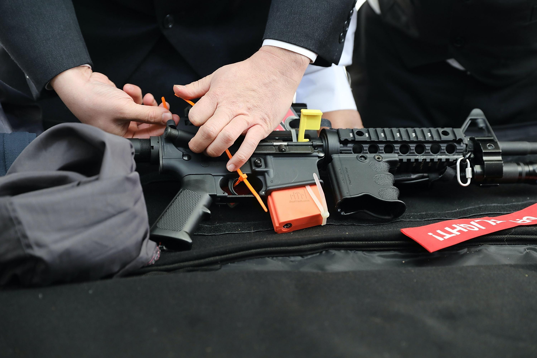 Defend freedom gun giveaway