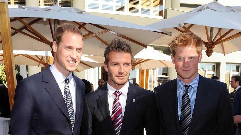 Is David Beckham At The Royal Wedding? He & Prince Harry
