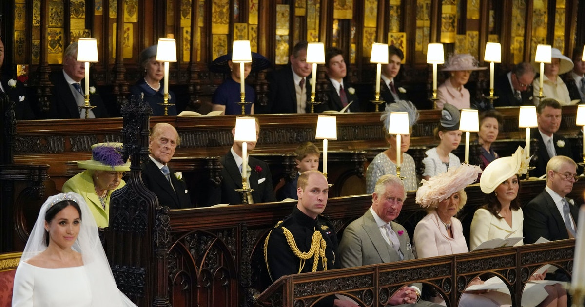There Was An Empty Seat For Princess Diana At The Royal Wedding & No, YOU'RE Crying