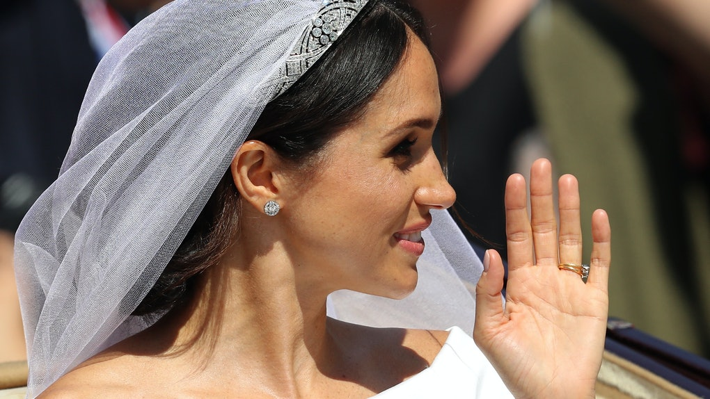 here s how to recreate meghan markle s wedding day makeup it s real simple wedding day makeup
