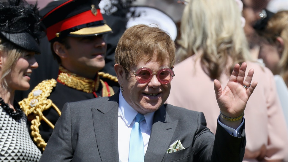 Elton Johns Performance At The Royal Wedding Reception Reportedly