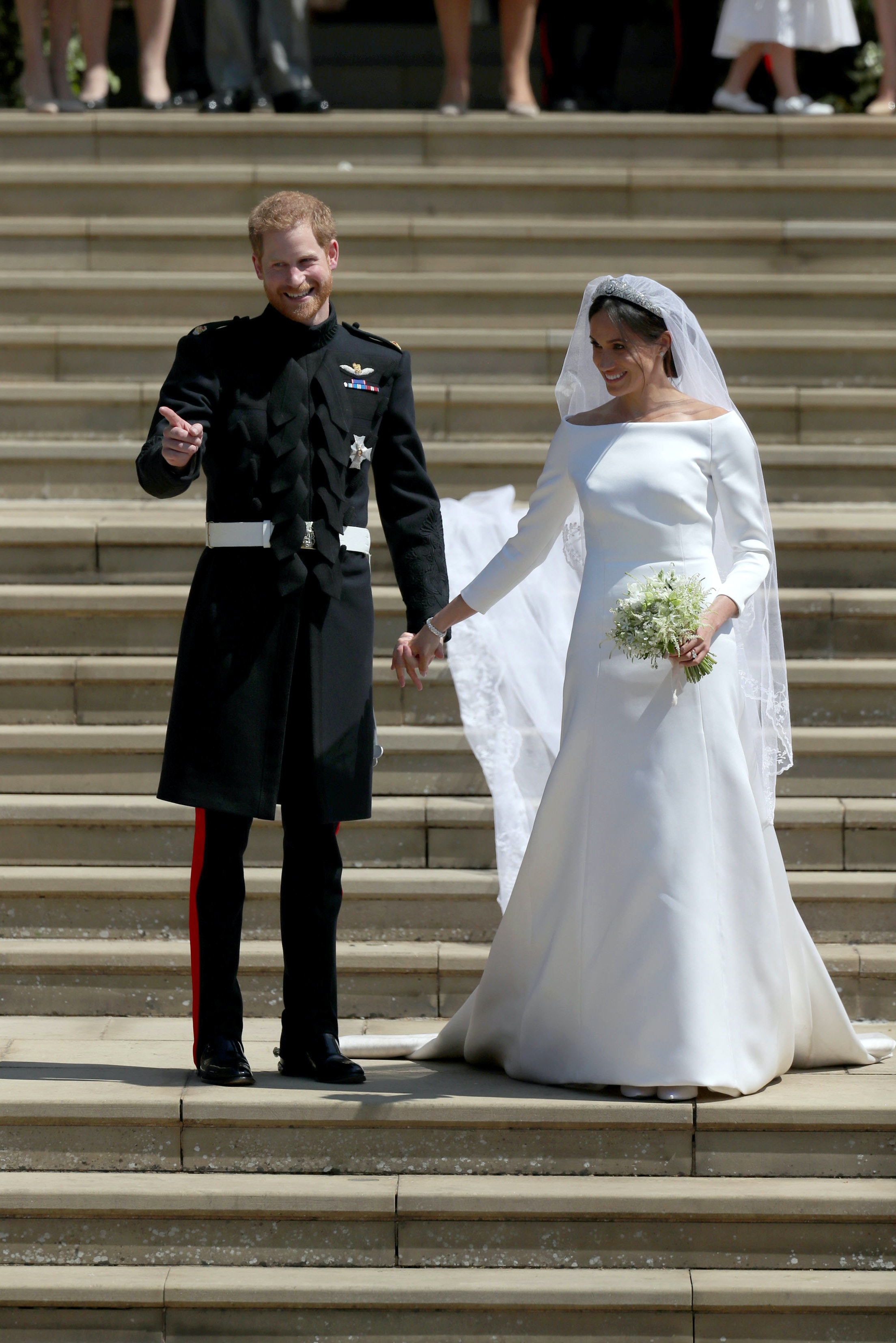 Meghan Markle S Wedding Dress Vs Kate Middleton The Difference Is In Details