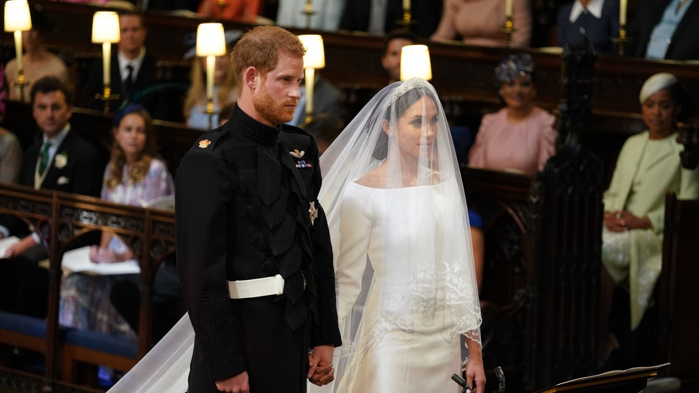 these photos of meghan markle on her wedding day will make you so emotional meghan markle on her wedding day