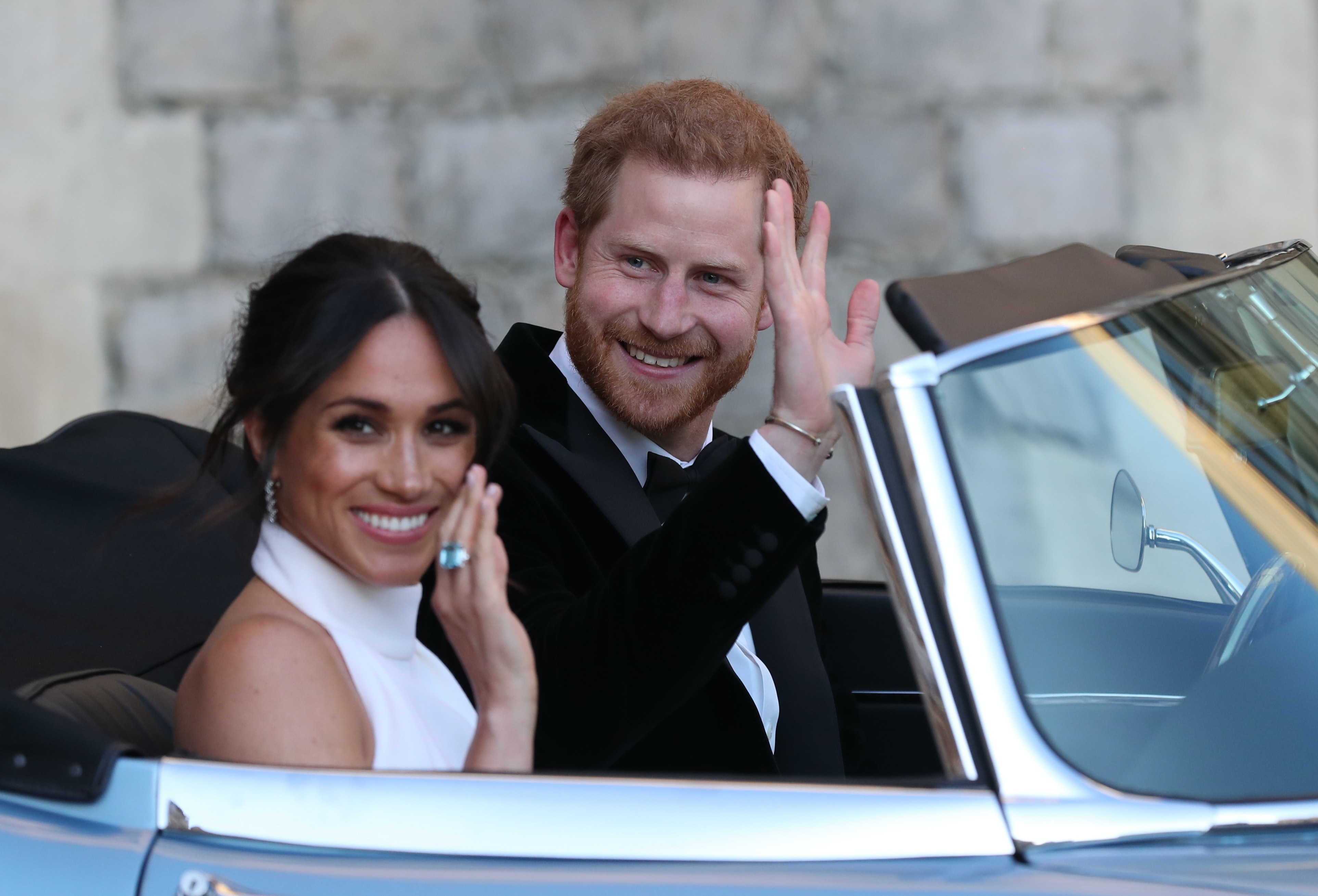 Meghan Markle Wore Princess Diana S Ring With Her Second Wedding