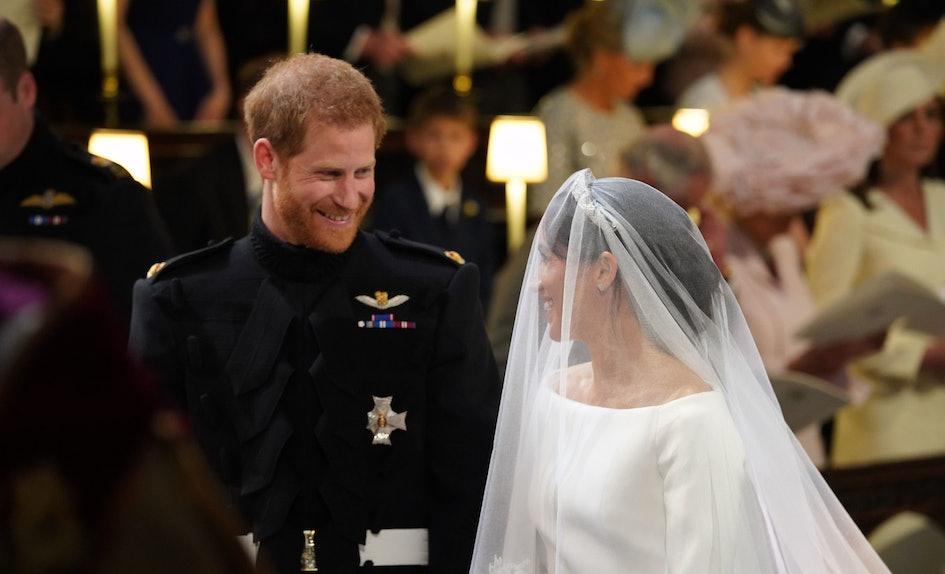 Prince Harrys Wedding Reception Speech Got Applause At The Cutest
