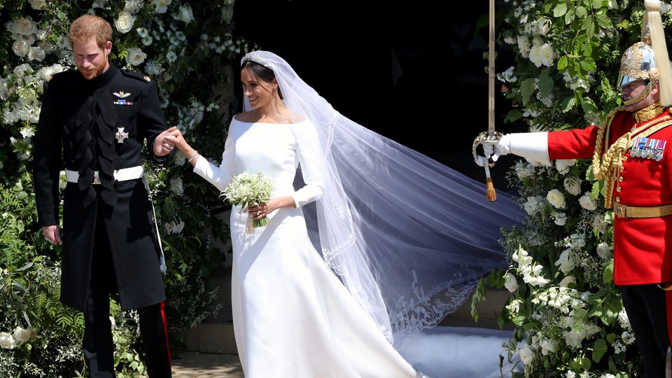 c26ee2bd4b8 Kate Middleton s Wedding Dress Vs. Meghan Markle s Dress Shows That The Two  Royal Brides Share A Sense Of Style