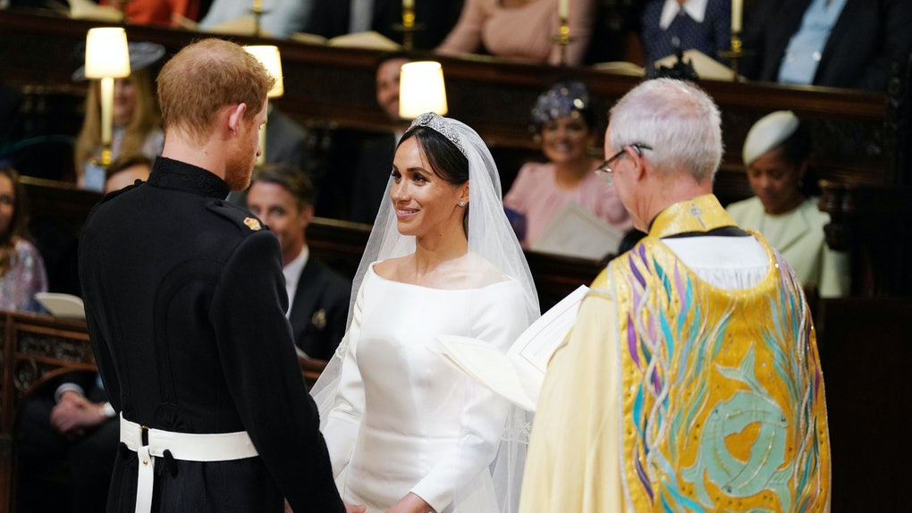 Meghan Markle Wedding Pictures.What Did Prince Harry Say To Meghan Markle During Their Wedding It
