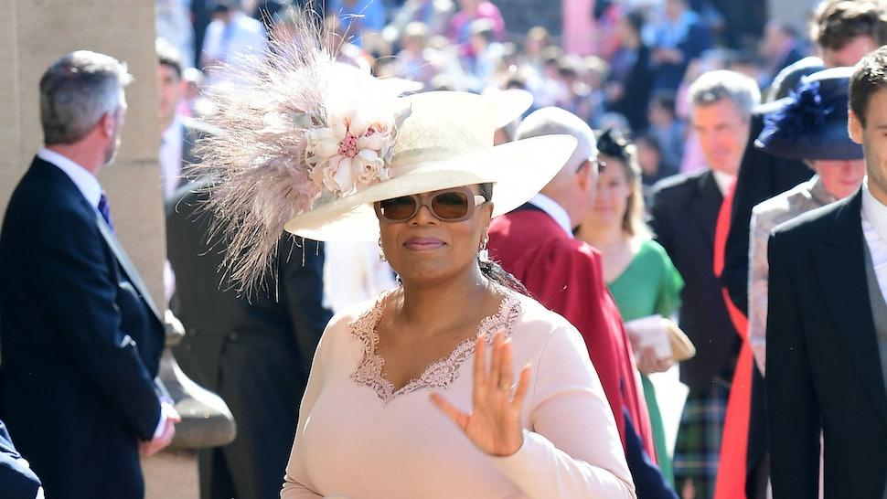 Oprah Winfrey Royal Wedding.Oprah Winfrey Changed Her Royal Wedding Dress At The Last Minute For