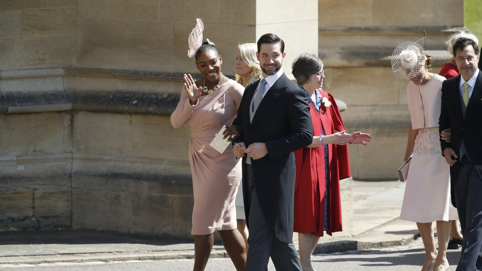 Serena Williams Wore Sneakers To The Royal Wedding Reception Was