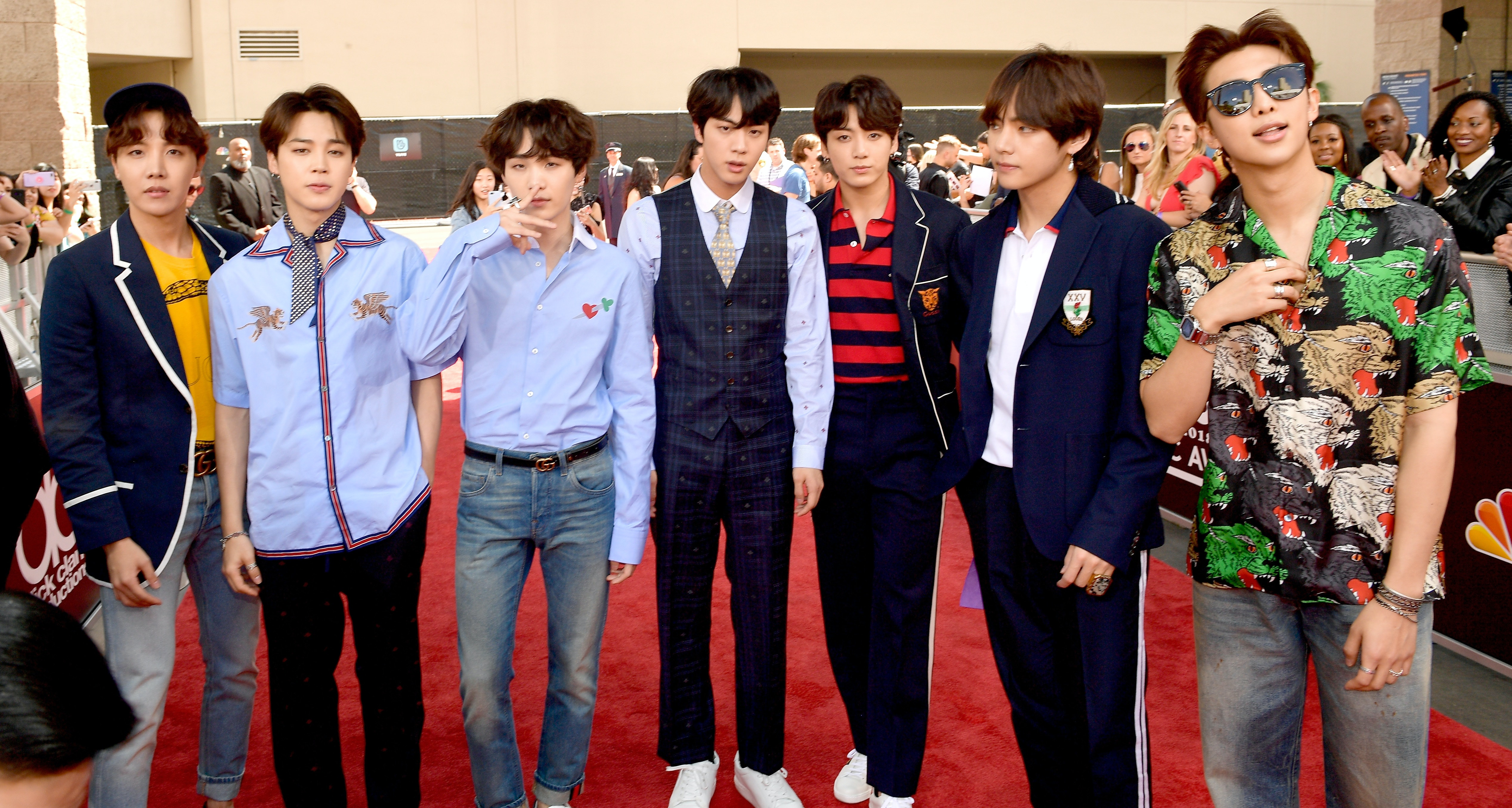BTS' 2018 Billboard Music Awards Outfits Are Just As Perfect