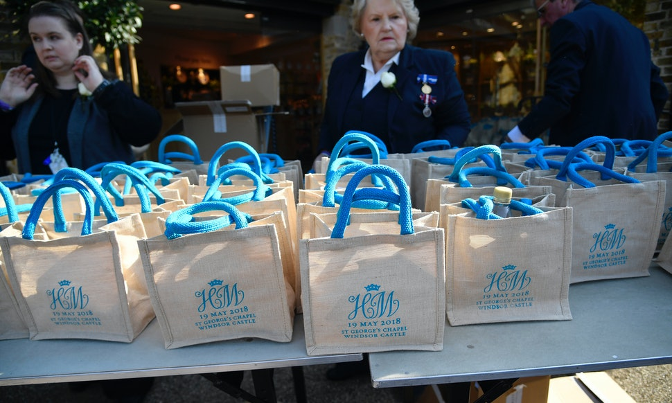 What Was In The Royal Wedding Gift Bags? Guests Are Already Selling ...