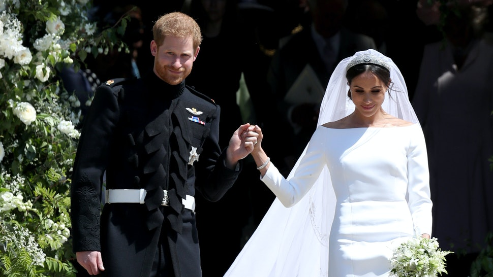 c955995f4fc Was Meghan Markle s Messy Bun At The Royal Wedding On Purpose  Her  Hairstylist Shut Down