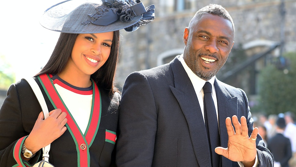 Idris Elba Djd At The Royal Wedding Reception But His History With