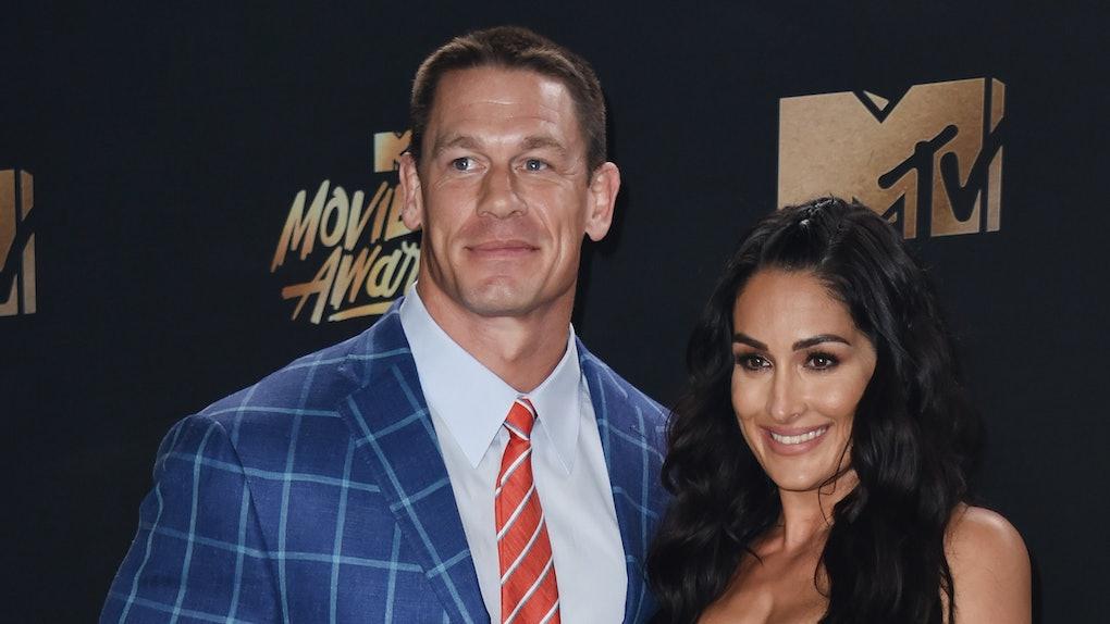 John Cena And Nikki Bella Call Off Wedding.Nikki Bella Kept Her Wedding Dress Despite Calling Off Her