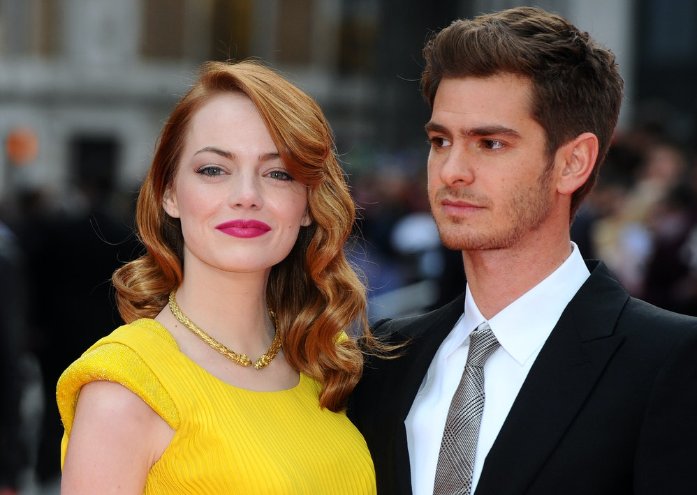 Image result for emma stone and andrew garfield