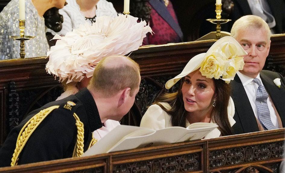 Prince William Kate Middletons Behavior At The Royal Wedding