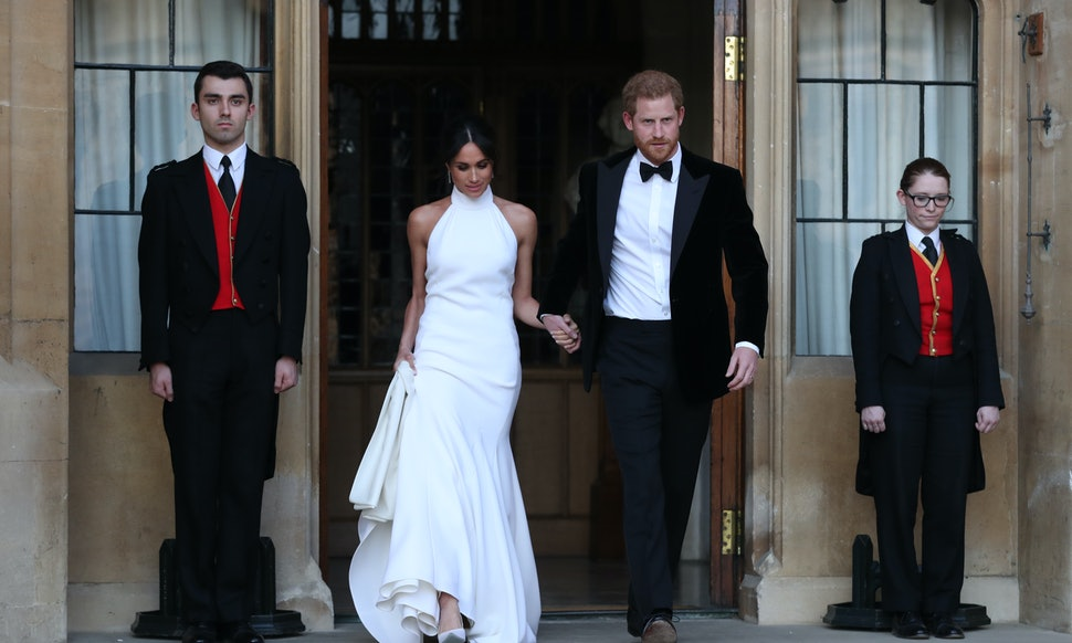 Boohoos Dupe Of Meghan Markles Wedding Reception Dress Is Here