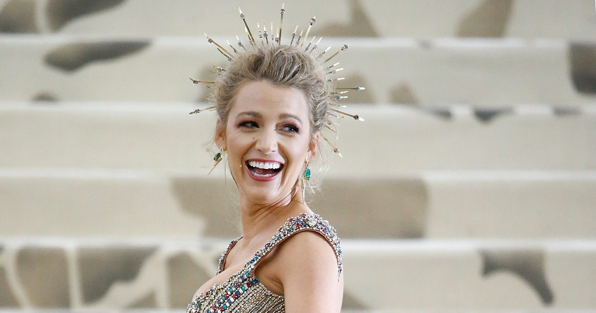 Blake Lively's 2018 Met Gala Dress Took Over 600 Hours To ...