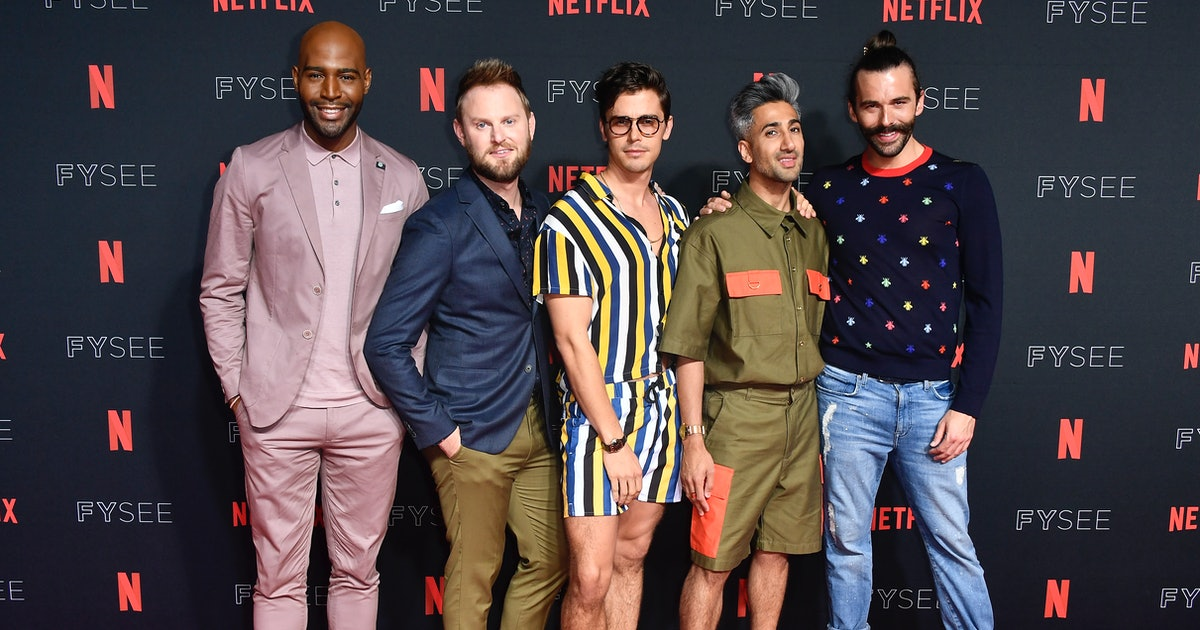 the female makeover in 39 queer eye 39 season 2 may be the most emotional episode yet according to. Black Bedroom Furniture Sets. Home Design Ideas