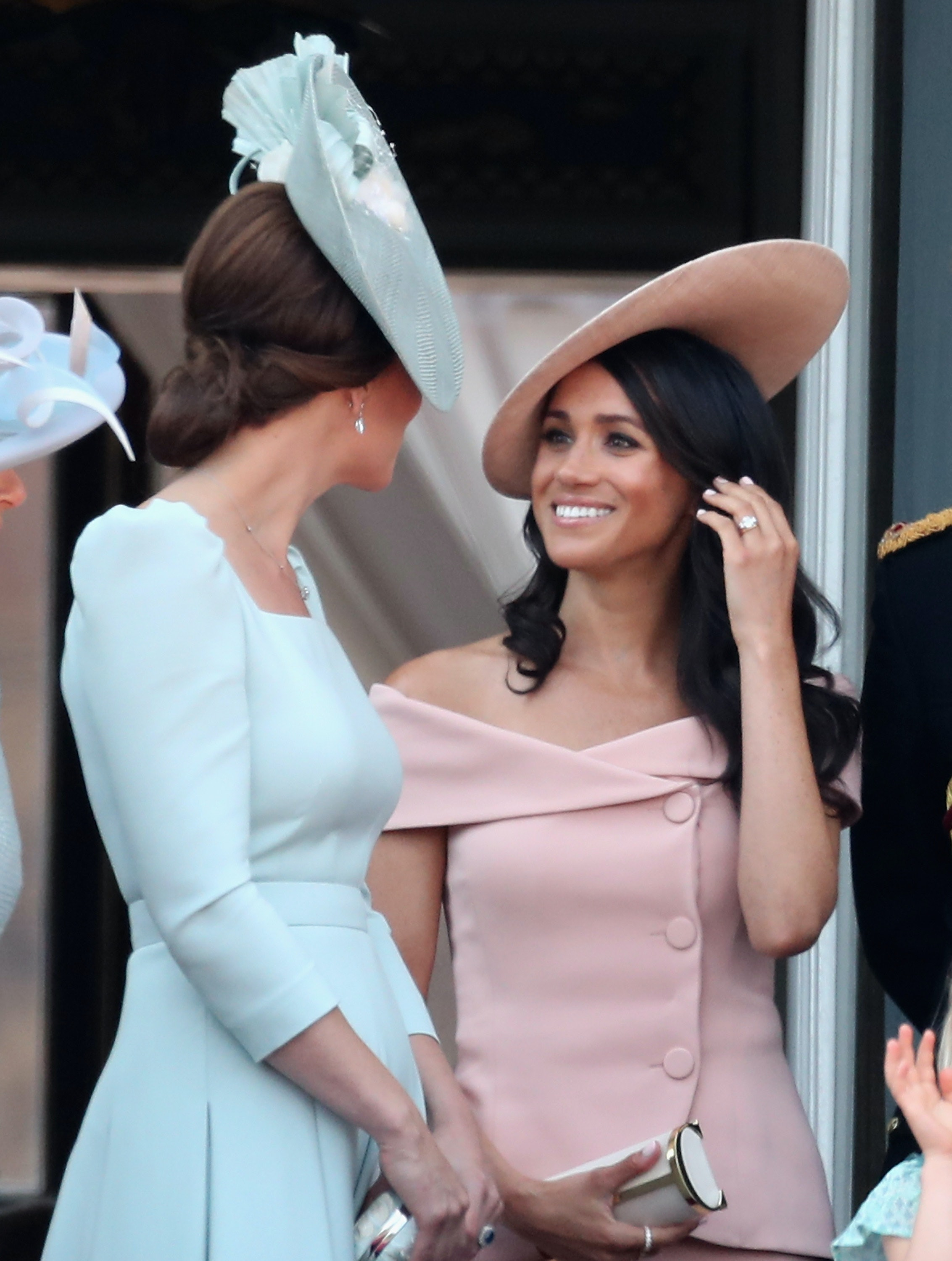 7b5e2e09deb This Video Of Prince Harry Telling Meghan Markle When To Curtsy To The  Queen Is So