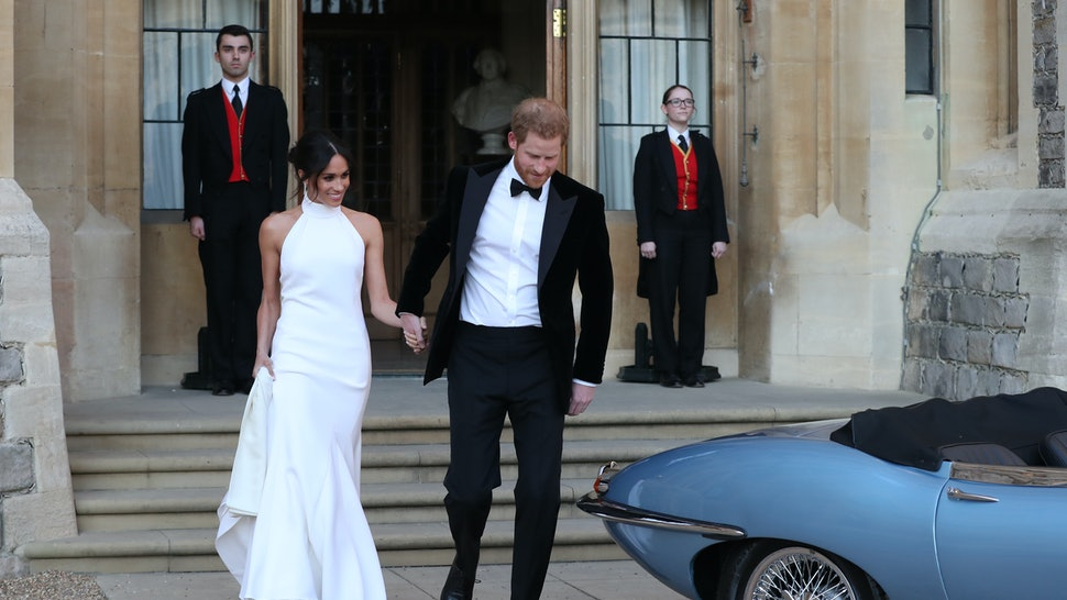 How You Can Buy Meghan Markles Royal Wedding Reception Dress By