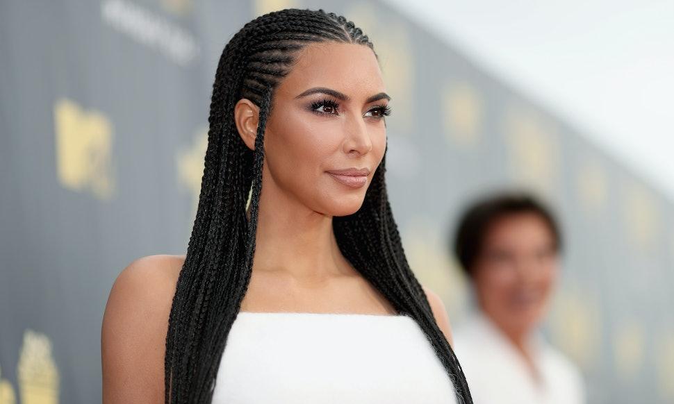 Kim Kardashian Explains Why She Wears Fulani Braids Despite All The