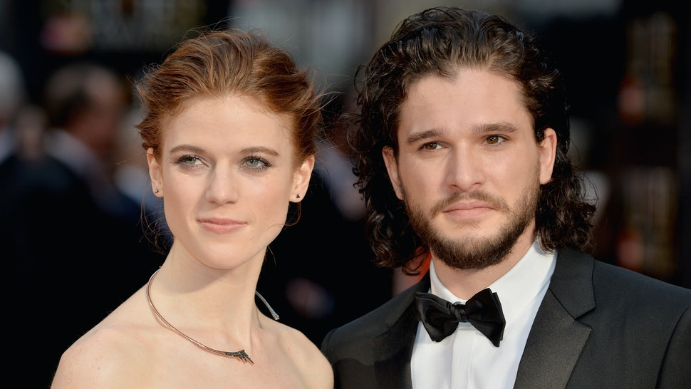 Kit Harington Rose Leslie Got Married The Wedding Had So Many