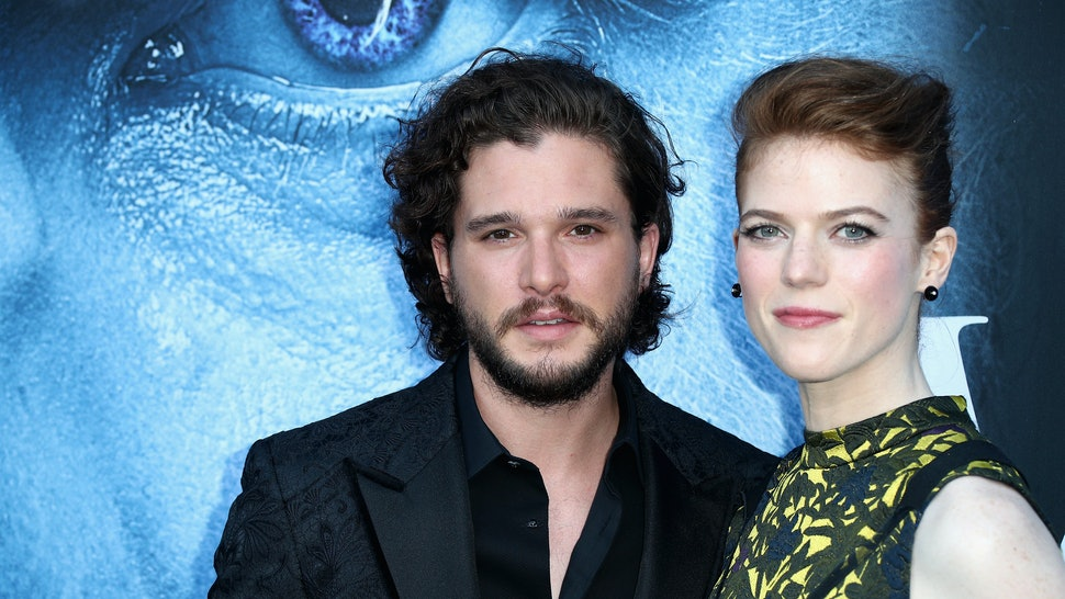 All The Game Of Thrones Stars At Kit Harington And Rose Leslies