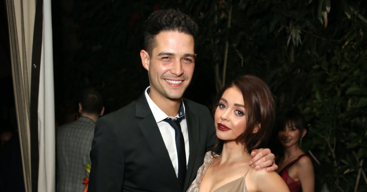 Wells Adams Sent Sarah Hyland The Most Supportive Message