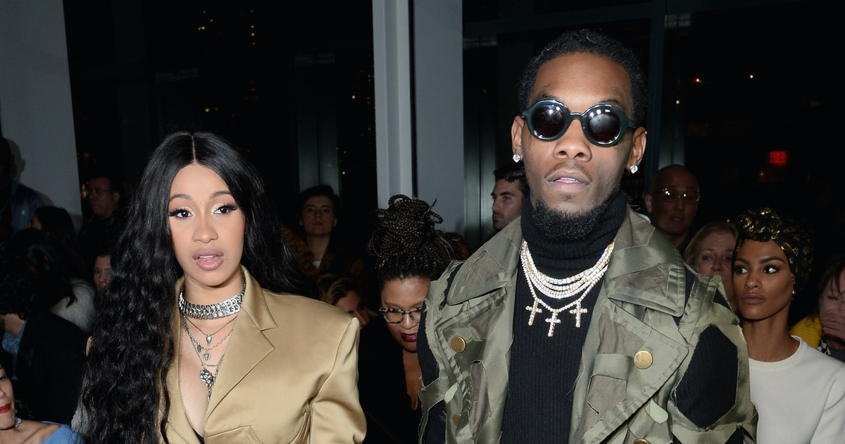 Cardi B Gets Offset S Name Tattooed On Her Body: When Did Cardi B & Offset Get Married? The Expectant