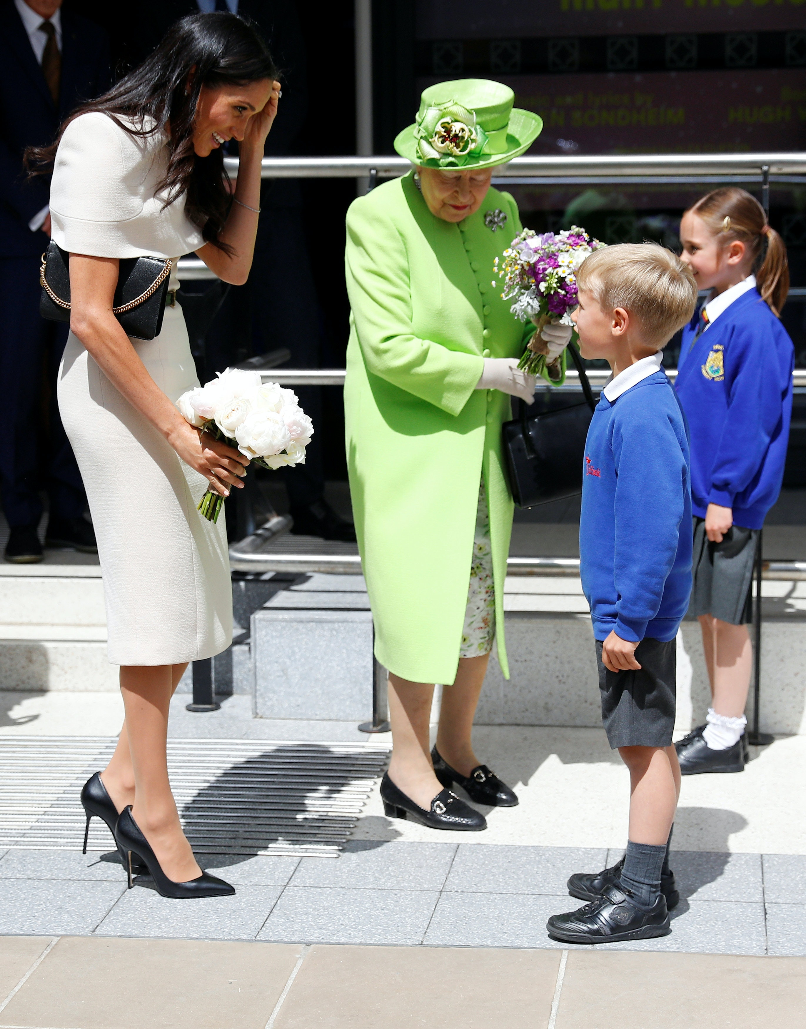 110e94ee738 Meghan Markle Wears Shoes That Are Too Big For Her Feet   There s An  Interesting Reason Why