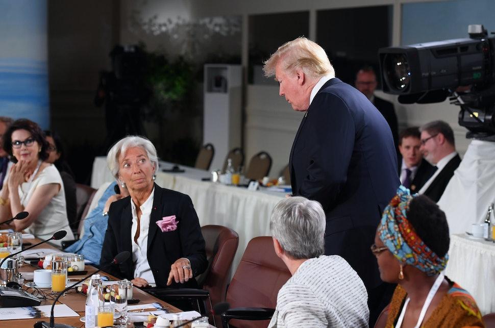 Trump G7 ile ilgili görsel sonucu