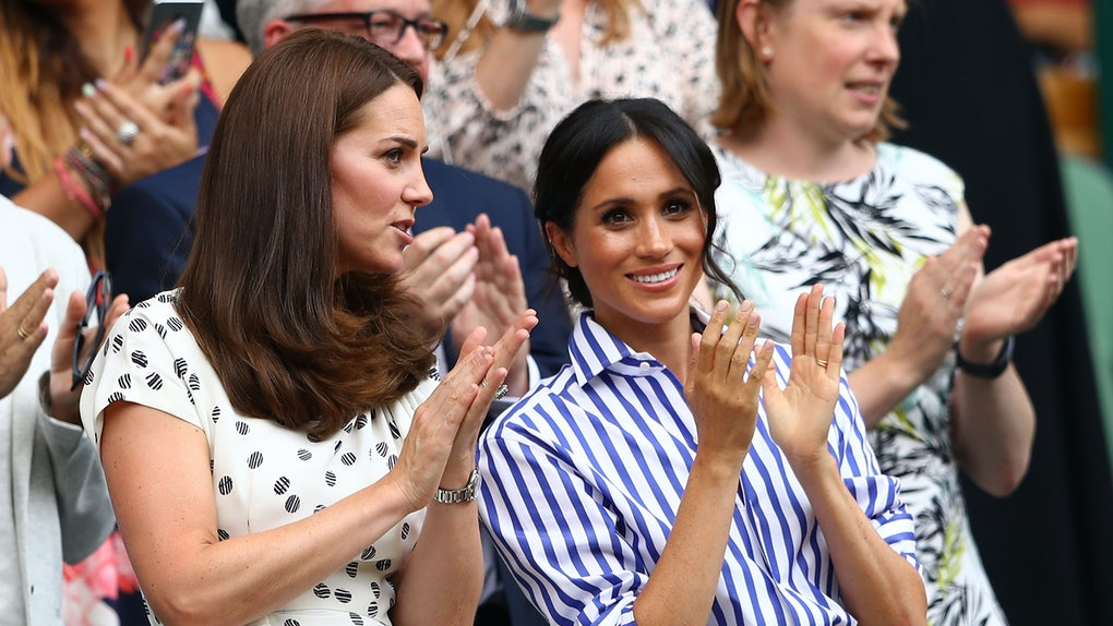 11d771f2 Meghan Markle's Wimbledon Outfit Had A Very Special Meaning For Prince Harry