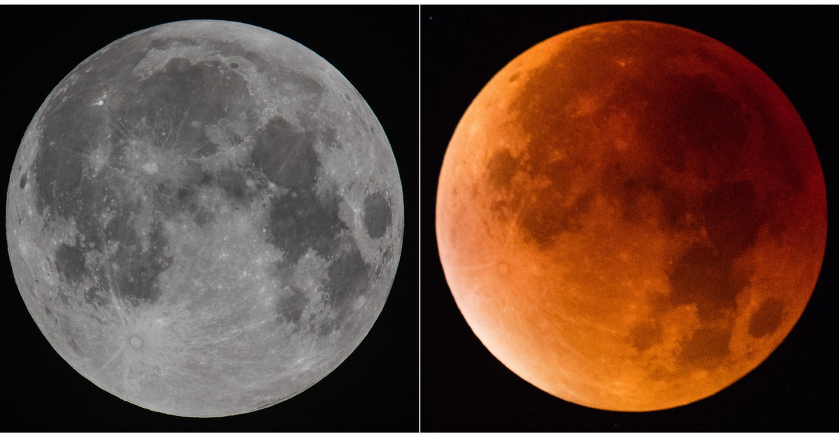 How Does A Blood Moon Differ From A Regular Full Moon? The July 2018 Buck Moon Is Bringing Extra Strong Astrological Vibes To All Zodiac Signs